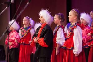 Детские казачьи песни,костюмы