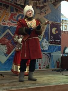 Ансамбль Услада на красной площади